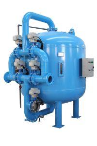 Druck-Sand-Media-Filter für Wasser-Vorbehandlung