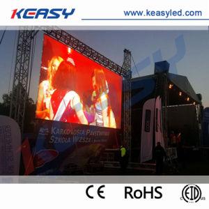 P4.81 de alta calidad a todo color exterior de la pantalla LED de alquiler