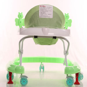 공장에서 정전기 색칠 철 프레임 아기 보행자