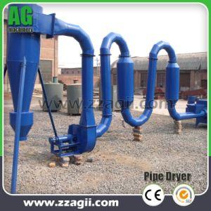 Fornecedor direto de fábrica Pipline serradura de madeira do secador da máquina do secador