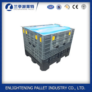 1200X1000X975 China palets de plástico plegables Contenedores de venta