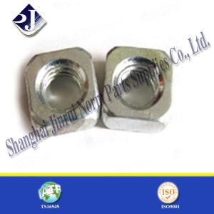 Noix carrée en acier normale de M10 DIN557 pour le boulon