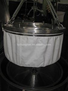 Pd1000 Mand van de Zak van de Lift van de Reeks centrifugeert de Vlakke de Machine van de Separator