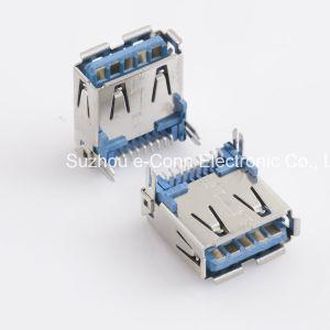 USB 3.0 유형 a, 정각, SMT 의 소켓, Usbx-A9fx-Xxm0-01