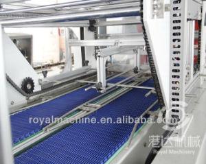 Macchina automatica di imballaggio con involucro termocontrattile di calore della bottiglia dell'animale domestico