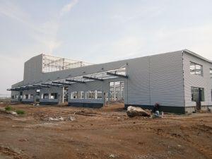 Estrutura de aço leve Pre-Engineered Workshop da Indústria (KXD-SSW26)