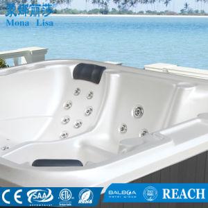 6 Pessoa Massagem acrílico quadrado grande banheira de hidromassagem ao ar livre (M-3363)