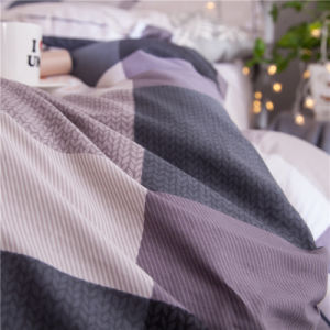 Colheita de Algodão Desiggn luxo Manta Bedsheet roupa de cobertura definida