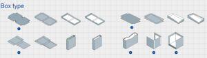 [زهجينغ] [زهنغرون] صندوق صلبة يجعل آلة