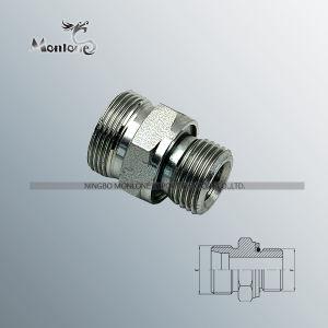 Ce aprobada Rosca BSP Stud en línea recta los extremos de tubo (1CG)