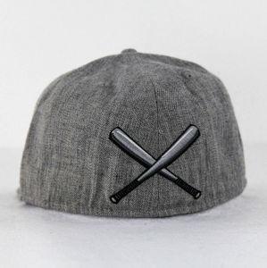 Jersey tricot de Heather Tampas de beisebol cinza