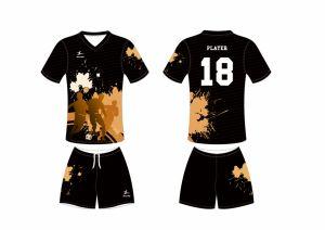 Migliore pullover di gioco del calcio dello spazio in bianco di sublimazione di disegno di Healong