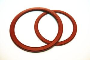 Kundenspezifische Silikon-Gummi-Ring-Dichtungs-Teile