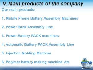 18650 Pack de batterie cylindrique de ligne de montage 10 canaux Twsl-1000 distinct de la batterie de la machine
