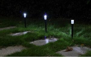 LED de luz da relva Solar Luz Jardim Solar