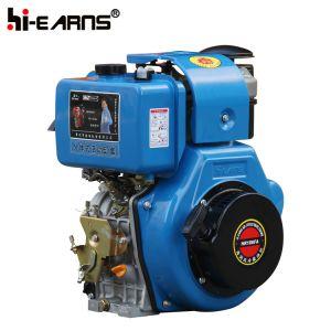Motor Diesel con estrías de baño de aceite y filtro de aire (H186FA)