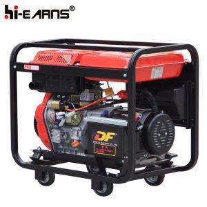 Luftgekühlter geöffneter Rahmen-Typ Dieselgenerator-Set dreiphasig (DG6000E3)
