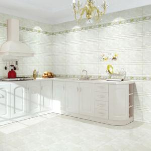 300X600mm 3D Inkjet verglaasden de Binnenlandse Ceramische Tegel van de Muur voor Keuken