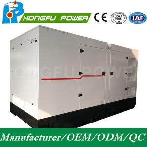 Alimentation de secours 450kw/562.5kVA Groupe électrogène diesel électrique silencieuse avec moteur Shangchai SDEC