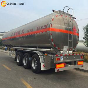 食糧オイルの輸送3の車軸40m3ステンレス鋼タンクトレーラー