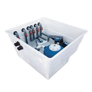Filtro de tambor de la acuacultura del filtro de arena de la piscina de la charca del Aqua