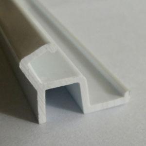 Espulsione che elabora profilo di plastica duro grigio del PVC per costruzione