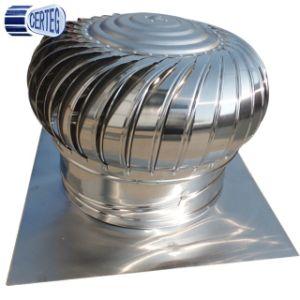 Telhado de aço inoxidável de Energia Não Ventilador da turbina