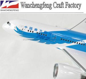Modello piano di modello dell'aeroplano della scala del Boeing B787-8