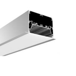 La longitud de montaje en superficie personalizada LED de aluminio Perfil para la TIRA DE LEDS