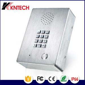 Drahtloses Emergency Kommunikations-Telefon des Höhenruder-Knzd-03 mit Minilautsprecher