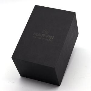 Hechos a mano papel negro Ver caso ver la caja de cartón