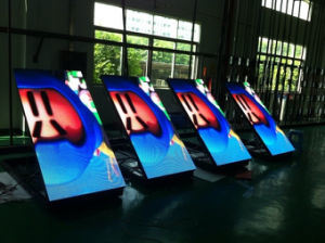 L'intérieur de l'écran LED haute résolution