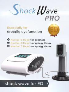 El tratamiento de ED Shockwave Shockwave de urología de succión de la disfunción eréctil