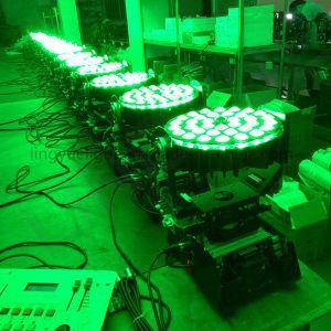 La luz de DJ 36x12W 4en1 Zoom Cabezal movible LED Wash