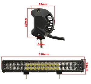 De LEIDENE Lichten van de Vrachtwagen en van de Aanhangwagen 33inch 4D van LEIDENE van de Weg 180W Lichte Staaf