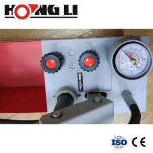 Prueba de presión de agua manual de la bomba (RP50S)