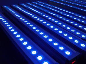 36PCS*1W IP 65 LED RGB 방수 벽 세탁기 빛