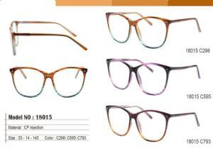 2018 Frames van de Oogglazen van het Frame van de Vrouwen van glazen de Optische Uitstekende met de Duidelijke Purpere Klinknagel Eyewear van de Lens