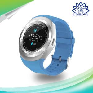 Y1 de Slimme van het Horloge Ronde Nano SIM TF Kaart van de Steun voor de Zaken Smartwatch van de Vrouwen van Mannen