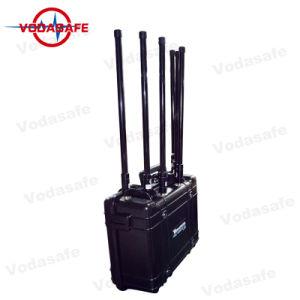 Improvisación Teléfono móvil portátil, móvil GSM 3G 4G 2018 Bloqueadores Jammer celular, el portátil de alta potencia de RF de la banda de 6Jammer/Blocker