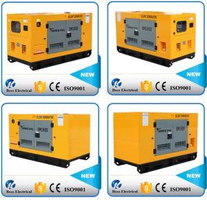 Weifang Engineのディーゼル発電機セットのディーゼルGensetによって動力を与えられる60Hz 28kw 35kVAのWater-Coolingの無声防音