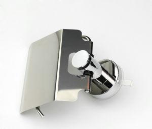 壁の吸引のコップのクロム終了するトイレットペーパーのホールダー(DG-SFC1003B)