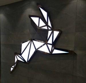 Sinal de metal de alta qualidade Sinal LED personalizados