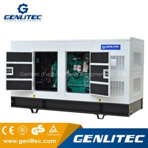 generatore elettrico diesel silenzioso di 100kVA Cummins (Cummins 6BT5.9-G1, Stamford UCI274C)