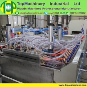 Plástico madera WPC Plantilla de la construcción de la placa de plástico de PVC de la máquina de extrusión