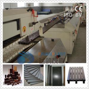 WPC techado de línea de producción de Extrusión de perfil