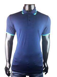 주문 옷 또는 의류 보통 공백 인쇄하거나 인쇄한 자수 의복 또는 의복 면 또는 폴리에스테 불쾌 또는 저어지 복장 남자의 골프 폴로 셔츠