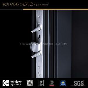 Design elegante e moderno com porta dupla de alumínio perfis ultra fino e tratamento de superfície de PVDF
