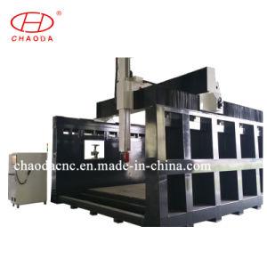 큰 3D 형 조각품 만들기를 위한 5개의 축선 CNC 대패
