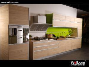Moderno diseño personalizado MUEBLES HOGAR MFC kitchen cabinet